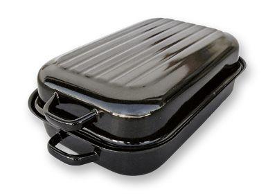 Pečení - Belis 37235 Pekáč s víkem oboustranný standart 35x24 cm