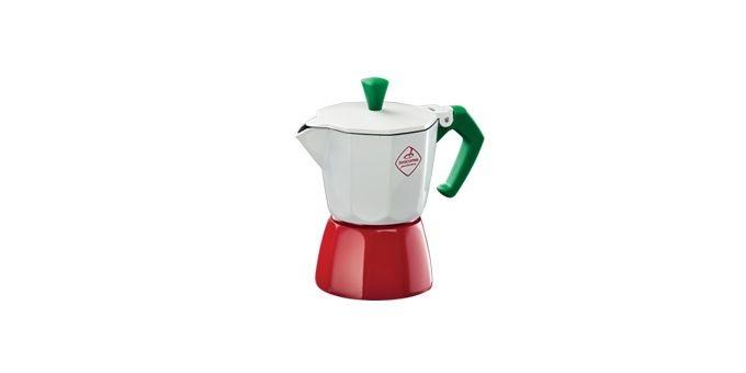 Nápoje - Tescoma 647031 Kávovar Paloma Tricolore na 1 šálek 80 ml