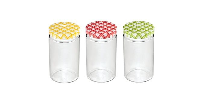 Vaření - Tescoma Della Casa 895116 Zavařovací sklenice 700 ml 3 ks