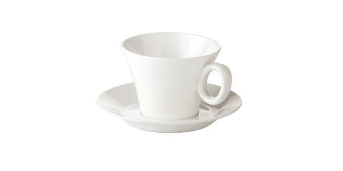 Nápoje - Šálek na čaj Allegro, s podšálkem