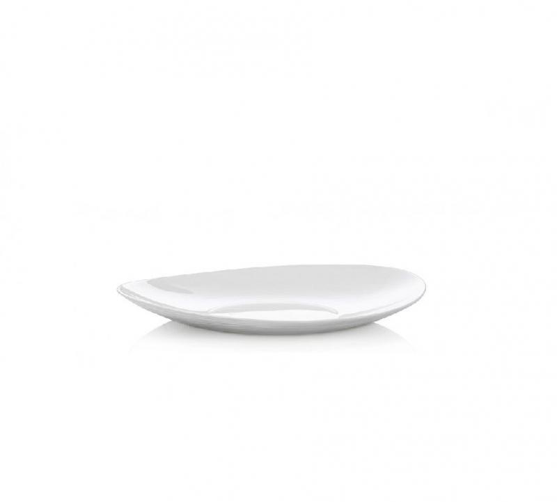 Stolování - Bormioli Rocco A02383 Mělký talíř Prometeo 22x19 cm