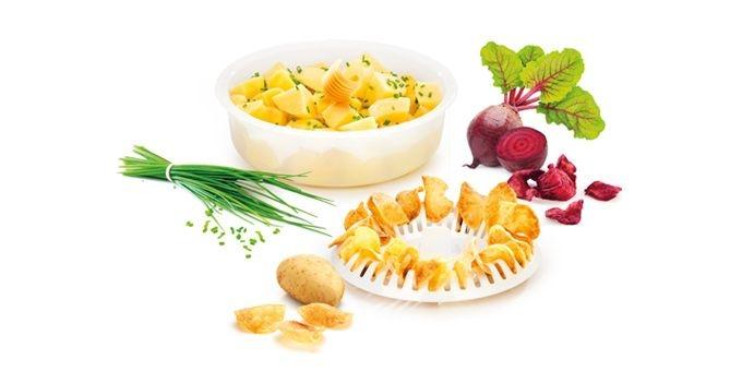 Vaření - Tescoma Purity MicroWave 705022 Hrnec na brambory a chipsy