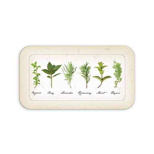 Stolování - Banquet A13451 Podnos melaminový Herbs 29,5x16,5 cm