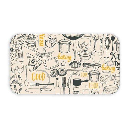 Stolování - Banquet A13452 Podnos melaminový Retro Kitchen29,5x16,5 cm