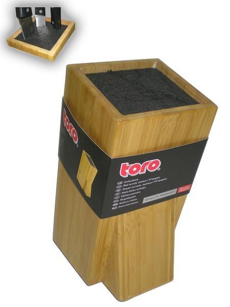 Organizace kuchyně - Toro 261914 Blok na nože štětinový