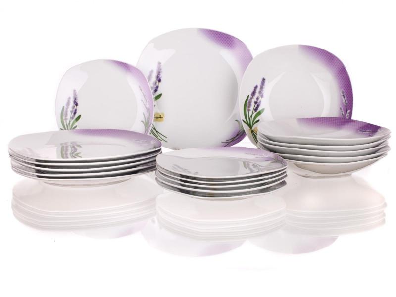 Stolování - Banquet A02563 Jídelní souprava Lavender 18 ks