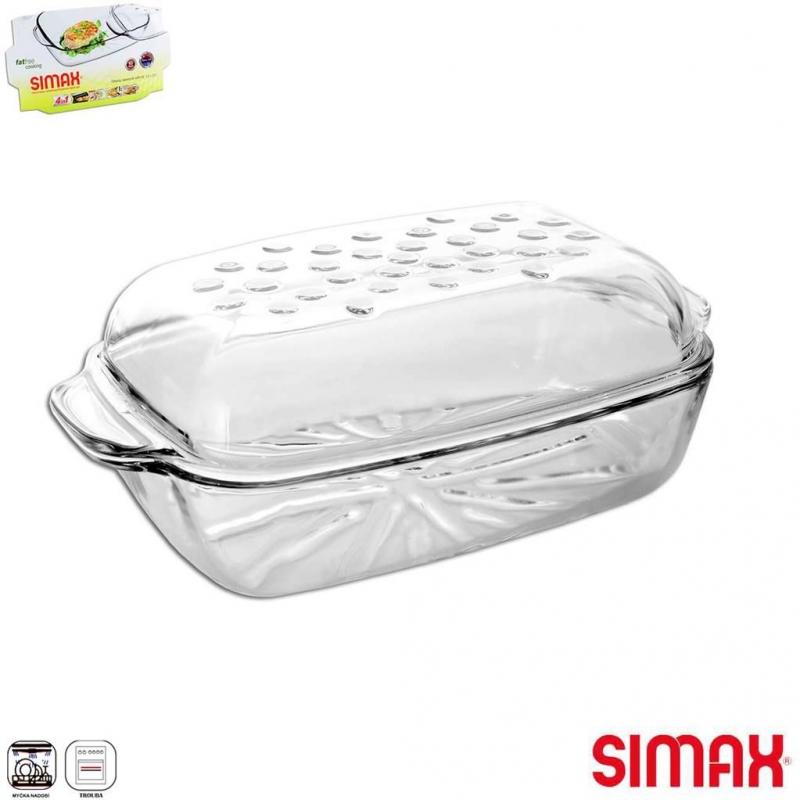 Pečení - SIMAX Pekáč obdélník 3,2+2,3 l víko