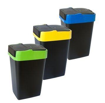 Domov a outdoor - Odpadkový koš Pushup 35 l