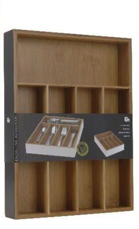 Organizace kuchyně - Příborník bambusový 35x26 cm