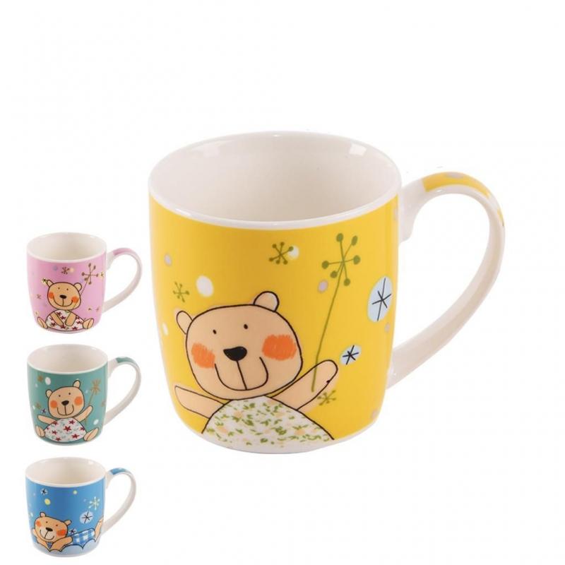 Nápoje - Orion 125622 Porcelánový hrnek Bear 300 ml