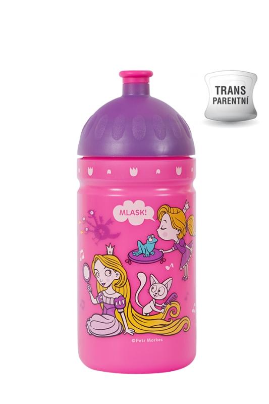 Nápoje - R&B Mědílek V050291 Zdravá lahev Svět princezen 0,5 l