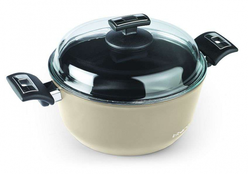 Vaření - Polévkový hrnec indukční Ivory Titano Ceramic O 28 cm