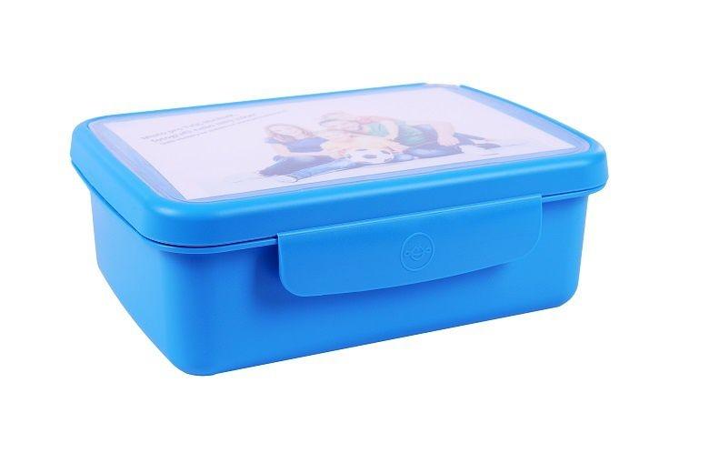 Skladování, přenášení - Zdravá sváča Svačinový box komplet modrá