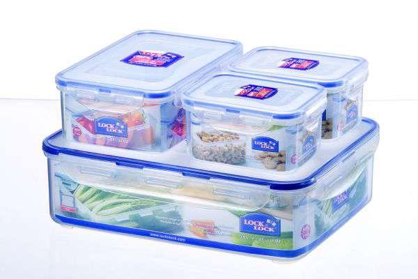 Skladování, přenášení - Dóza na potraviny Lock&Lock HPL834SA 4ks