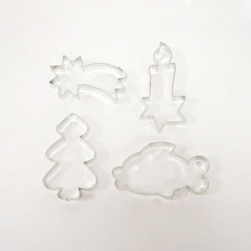 Pečení - Sada vánočních vykrajovátek 4 ks