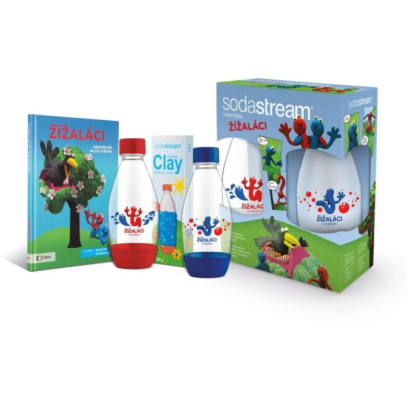 Nápoje - SodaStream 42002425 Dětský set Žížaláci 2 lahve + dárky