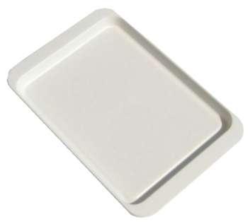 Stolování - Plastový podnos bílý 50x34 cm