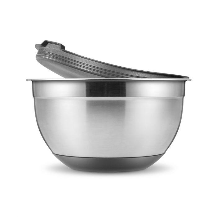 Příprava potravin - Tescoma GrandCHEF 428602 Mísa nerezová s víkem 24 cm 5 l