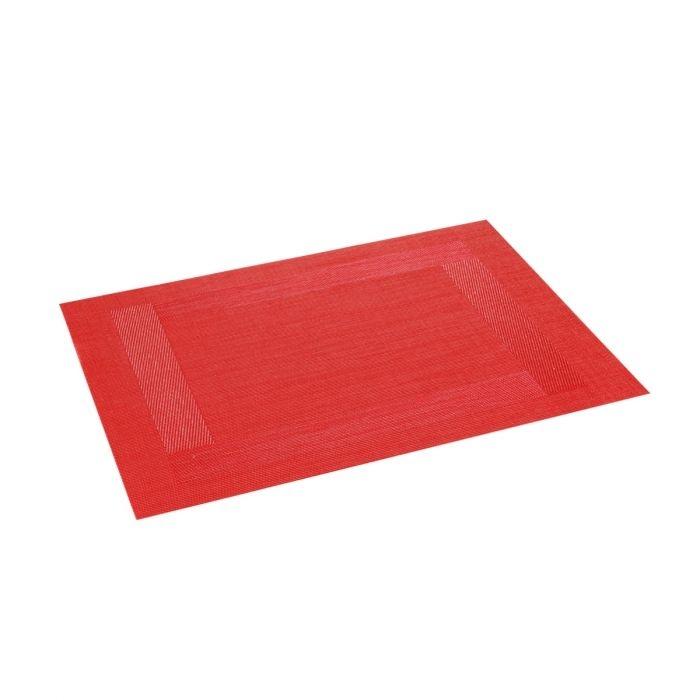 Stolování - Tescoma FLAIR FRAME 662095 Prostírání červená 45x32 cm