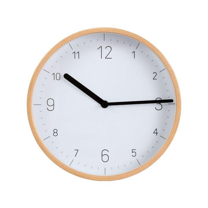 Domov a outdoor - Tescoma FANCY HOME 908120 Nástěnné hodiny dřevo bílá