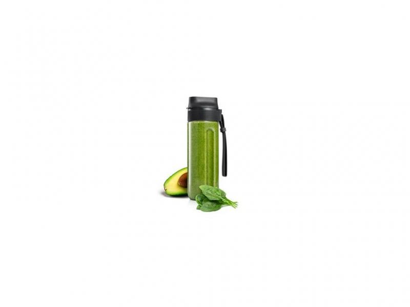 Příprava potravin - Smoothie láhev PRESIDENT 0,6 l, antracitová, smetanová