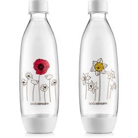 Nápoje - SodaStream Lahev Fuse Květiny v zimě 2Pack 1 l