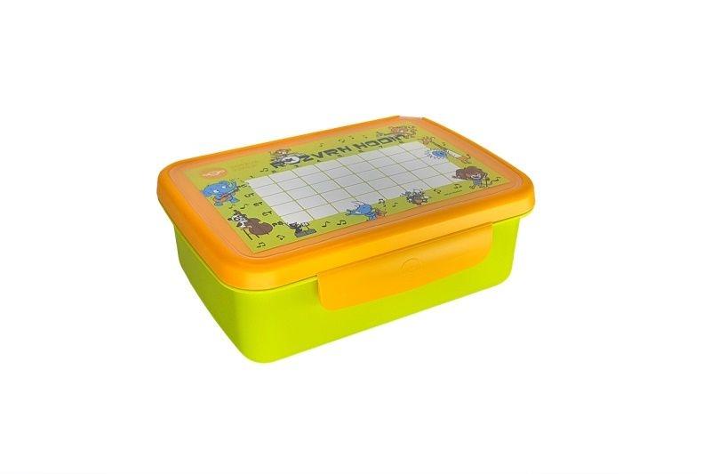 Skladování, přenášení - Zdravá sváča komplet box zelená/žlutá