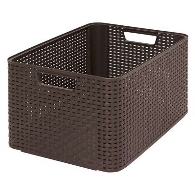 Skladování, přenášení - Box úložný Curver Rattan Style L