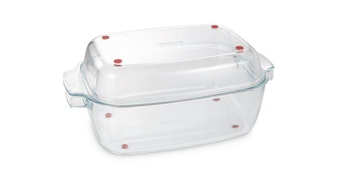 Pečení - GrandCHEF skl.pekáč s poklop.40x26cm