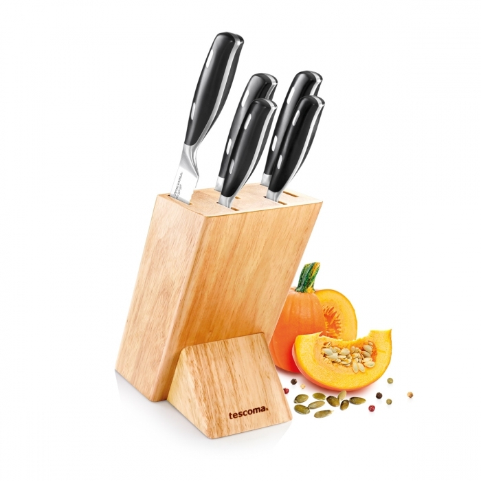 Příprava potravin - Blok na nože GrandCHEF s 5 noži
