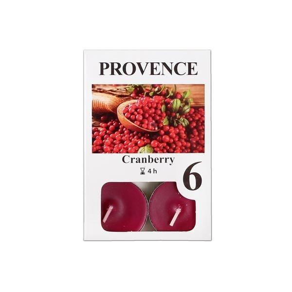 Domov a outdoor - Svíčka čajová Provence 6ks