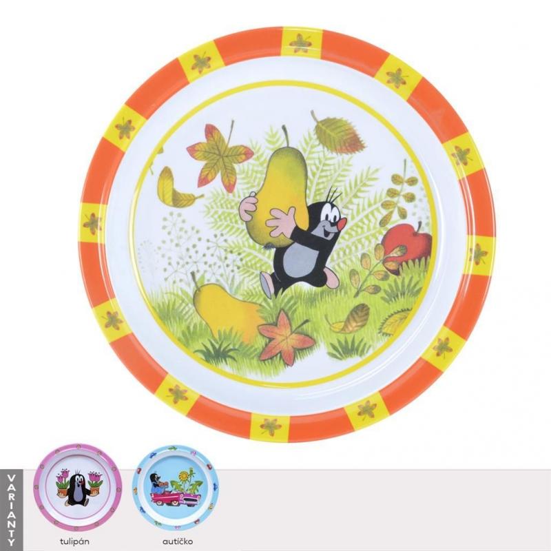 Stolování - Orion Dětský talíř Krtek 21,5 cm