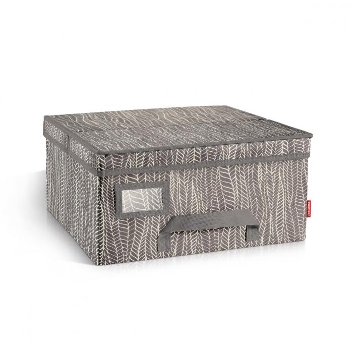 Domov a outdoor - Krabice na oděvy FANCY HOME 40 x 35 x 20 cm