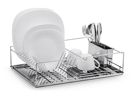 Organizace kuchyně - Odkapávač na nádobí Ampio 47 x 32,5 x 12,5
