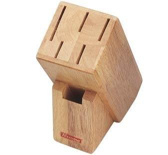 Organizace kuchyně - Dřevěný blok na kuchyňské nože 5+1