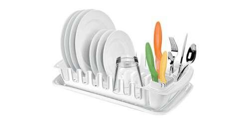 Organizace kuchyně - CLEAN KIT odkapávač s podnosem Tescoma 900644
