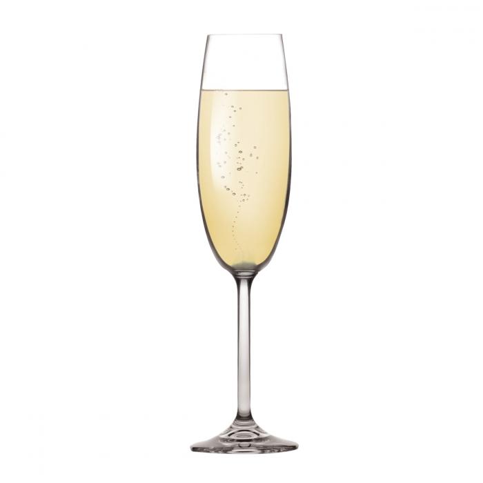 Nápoje - odlivka CHARLIE 220ml-šampaňské 6ks