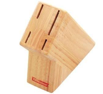 Organizace kuchyně - Dřevěný blok na kuchyňské nože 4