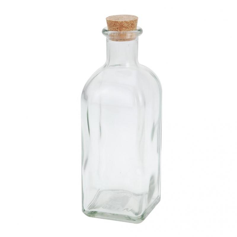 Nápoje - Láhev sklo+zátka korek 0,5 l