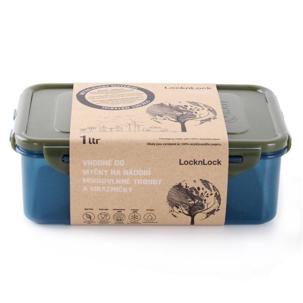 Skladování, přenášení - Dóza na potraviny LOCK 1L,(12,8x19,5x6,7cm) ECO