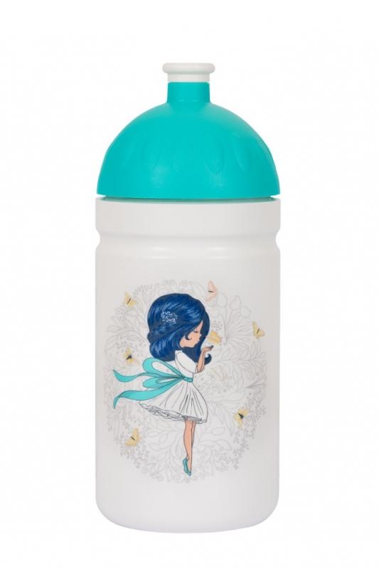 Nápoje - Zdravá lahev Dívka s mašlí 0,5l
