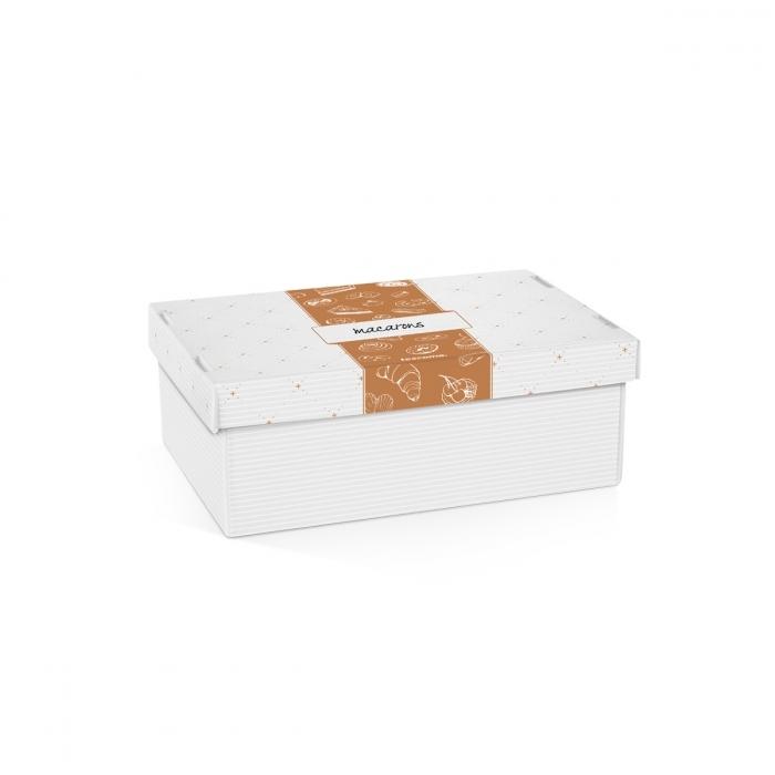 Pečení - Krabice na cukroví a lahůdky DELÍCIA, 28 x 18 cm