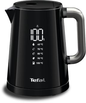 Nápoje|Konvice, příprava kávy, čaje|Čajníky, konvice - konvice TEFAL DIGITAL SMART & LIGHT KO854830 1l