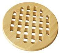 Organizace kuchyně - Podložka pod hrnec dřevěná kulatá