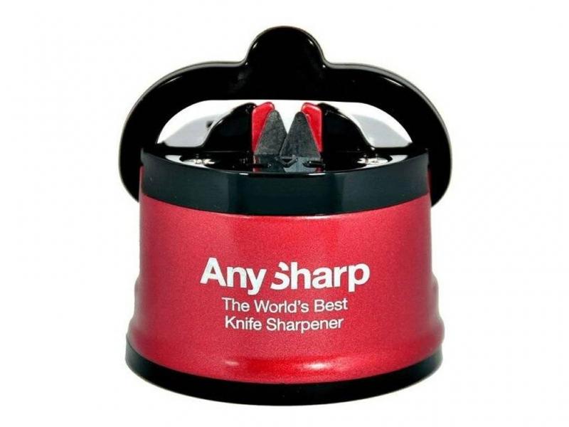 Příprava potravin - Brousek na nože AnySharp PRO červený