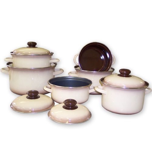 Vaření - Sada nádobí CAPUCCINO KLASIK 12 dílů