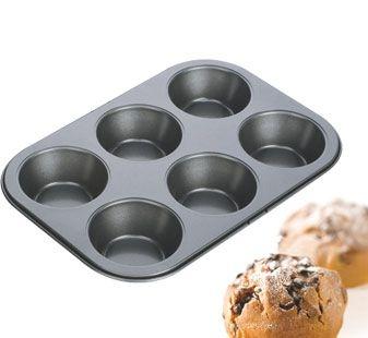 Pečení - Forma na 6 muffinů Delícia 18x26cm Tescoma 623220