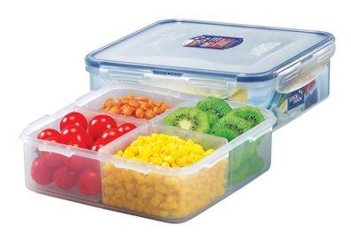 Skladování, přenášení - Lock&lock box na potraviny dělený HPL823C