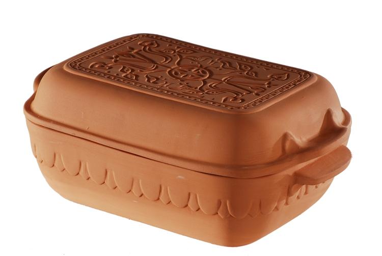 Pečení - Římský hrnec PATAKI 40 x 26,5 x 16 cm 9 l