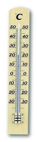 Domov a outdoor - Dřevěný závěšný pokojový teploměr TFA 12.1003.05